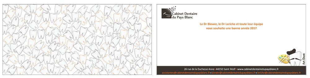 Carte Voeux 2017 dentistes