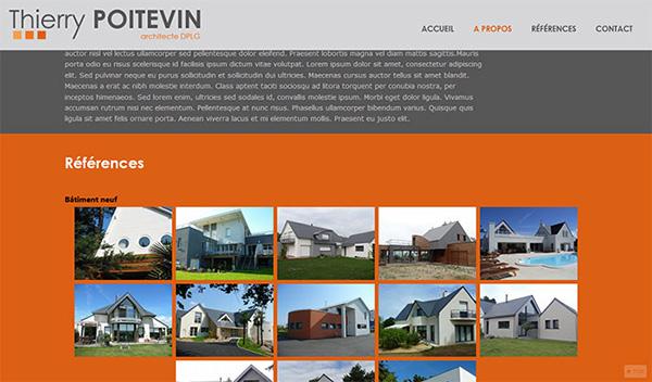 Poitevin Architecte site web