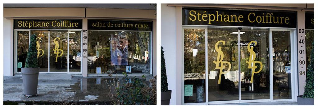 Stephane Coiffure Marquages extérieurs