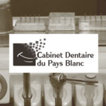 Cabinet Dentaire du Pays Blanc : logo, enveloppe, site web , evenementiel