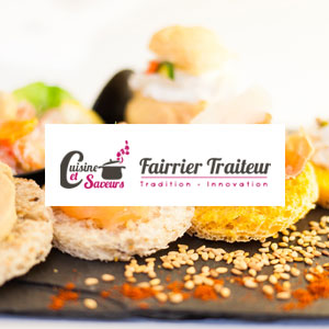 Fairrier Traiteur Site web