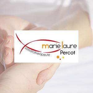 Marie Laure Percot : logo, carte de visite, site web