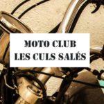 Moto Club Les Culs Salés - affiches et produits marqués