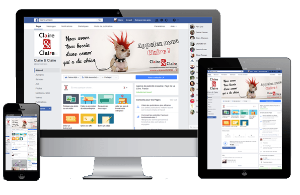 Page Facebook conception création