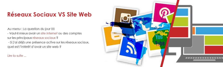 Reseaux Sociaux VS site Web - communication Herbignac