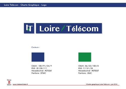 Loire Telecom - CharteGraphique logo