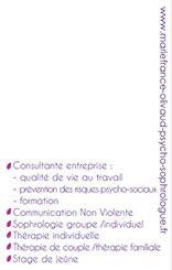 Carte de Visite recto - saint nazaire 44