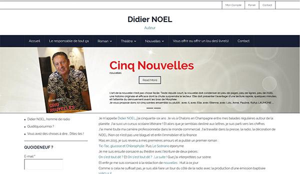 Didier Noe Site Web E-commerce administrable