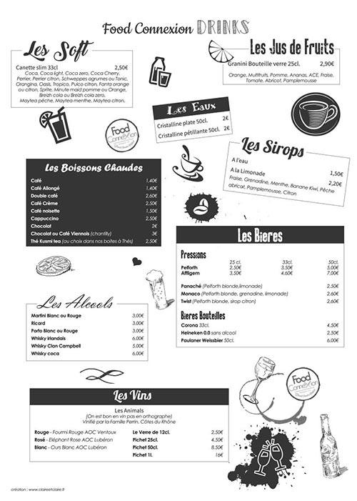 Carte Hiver 2019 FoodConnexion - mise en page Claire & Claire