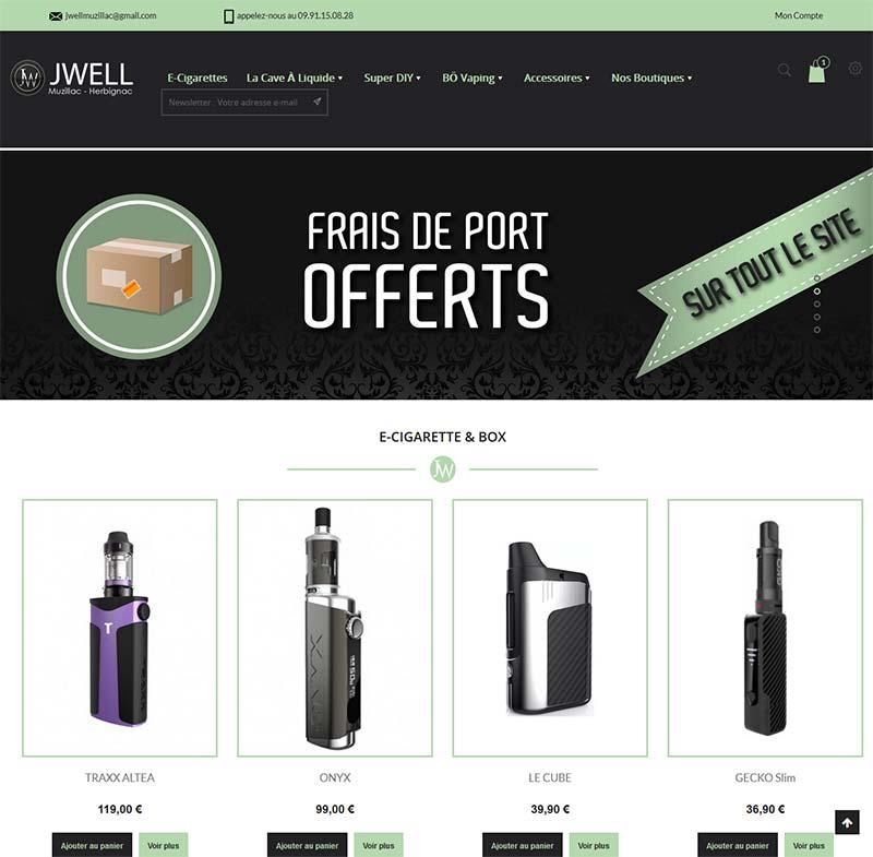 Jwell Muzillac - Herbignac - site web et référencement naturel