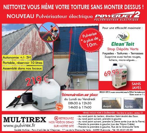 encart publicitaire mise en page Guérande