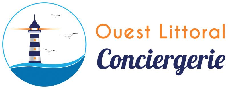 Logo Ouest Littoral Conciergerie - création