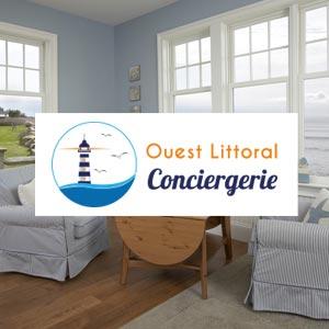 Ouest Littoral Conciergerie - infographie site web