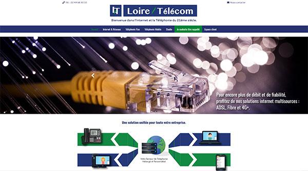 Site Web Loire Telecom