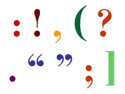 Ponctuation : les règles typographiques