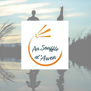 Au Souffle d'Awen - logo, charte graphique, affiche, flyer