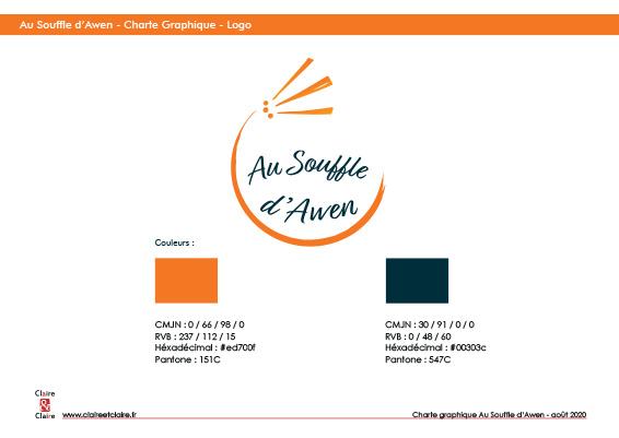 Au souffle d'Awen CharteGraphique Logo