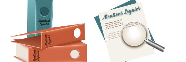 Les mentions légales sur les documents imprimés