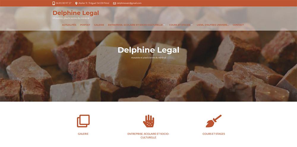 Délphine Legal Site Web administrable