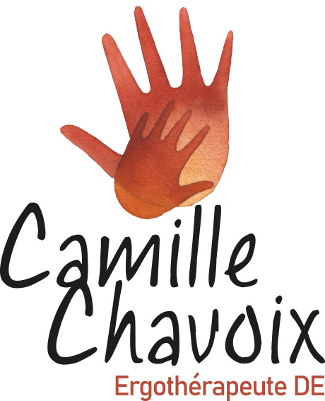 création logo camille chavoix ergotherapeute